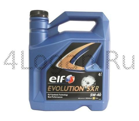 Масло моторное ELF EVOLUTION SXR 5W40 4л (синтетика)